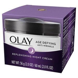 OLAY Age Defying Anti Wrinkle night Cream 2.0 OZ
